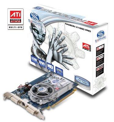 ATI Radeon x1650 series