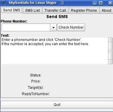 Отправка СМС из скапа под линуксом